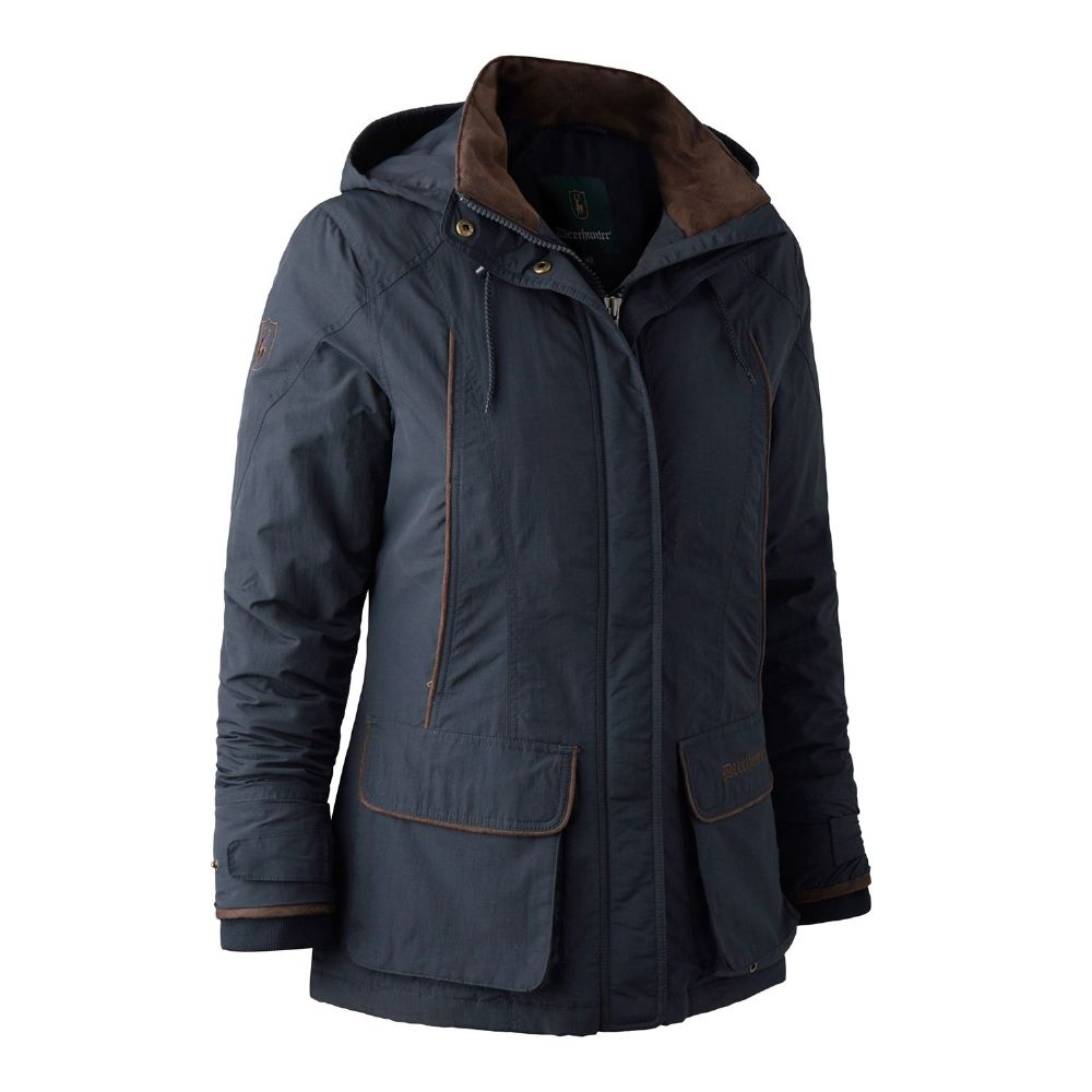 Deerhunter Lady Josephine Jacket: Graphite Blue